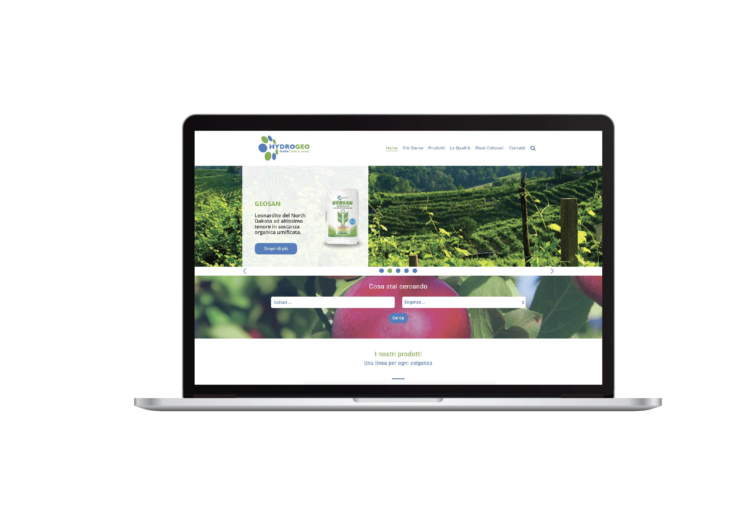 Hydrogeo - sito web