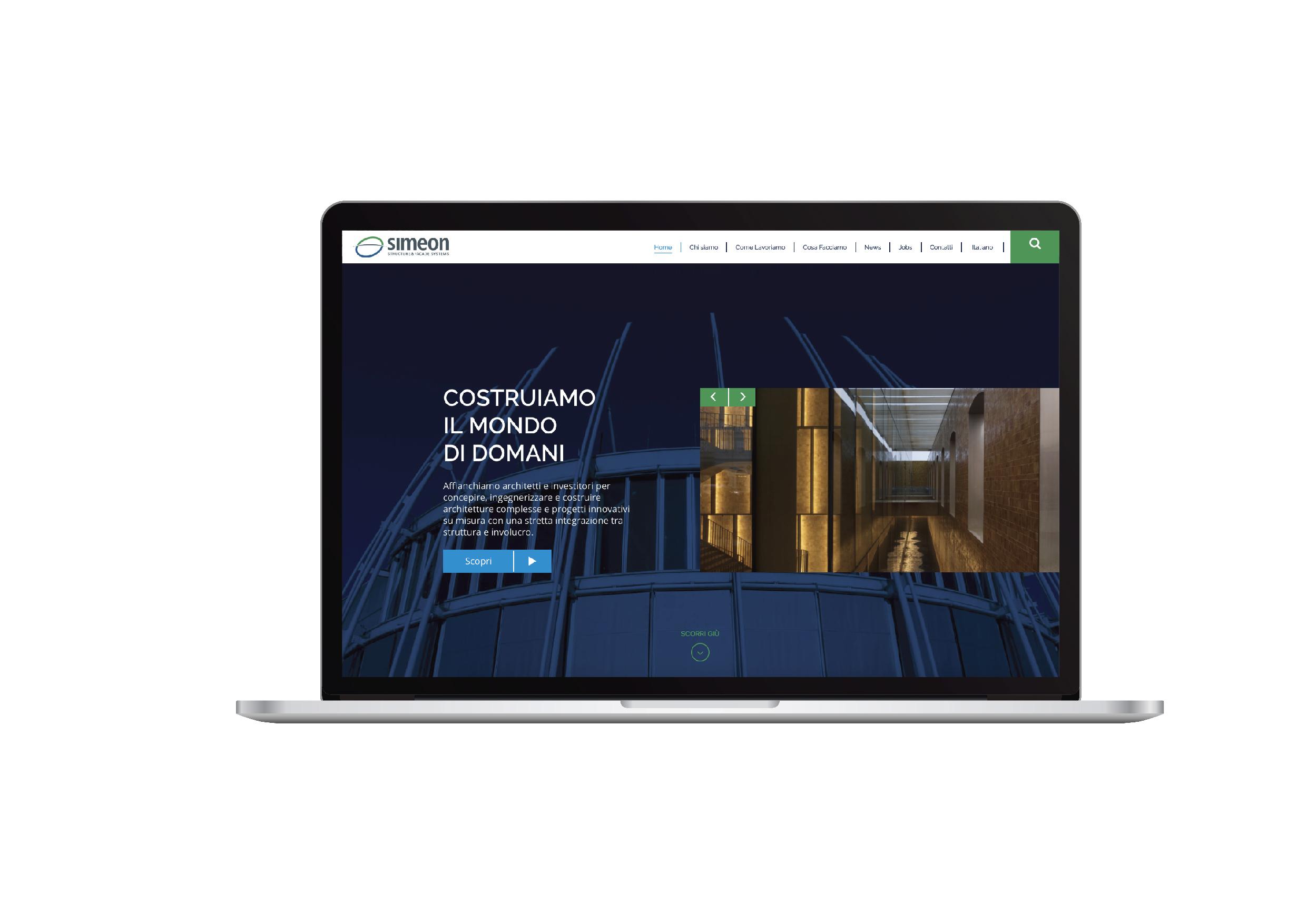 Gruppo Simeon - sito web