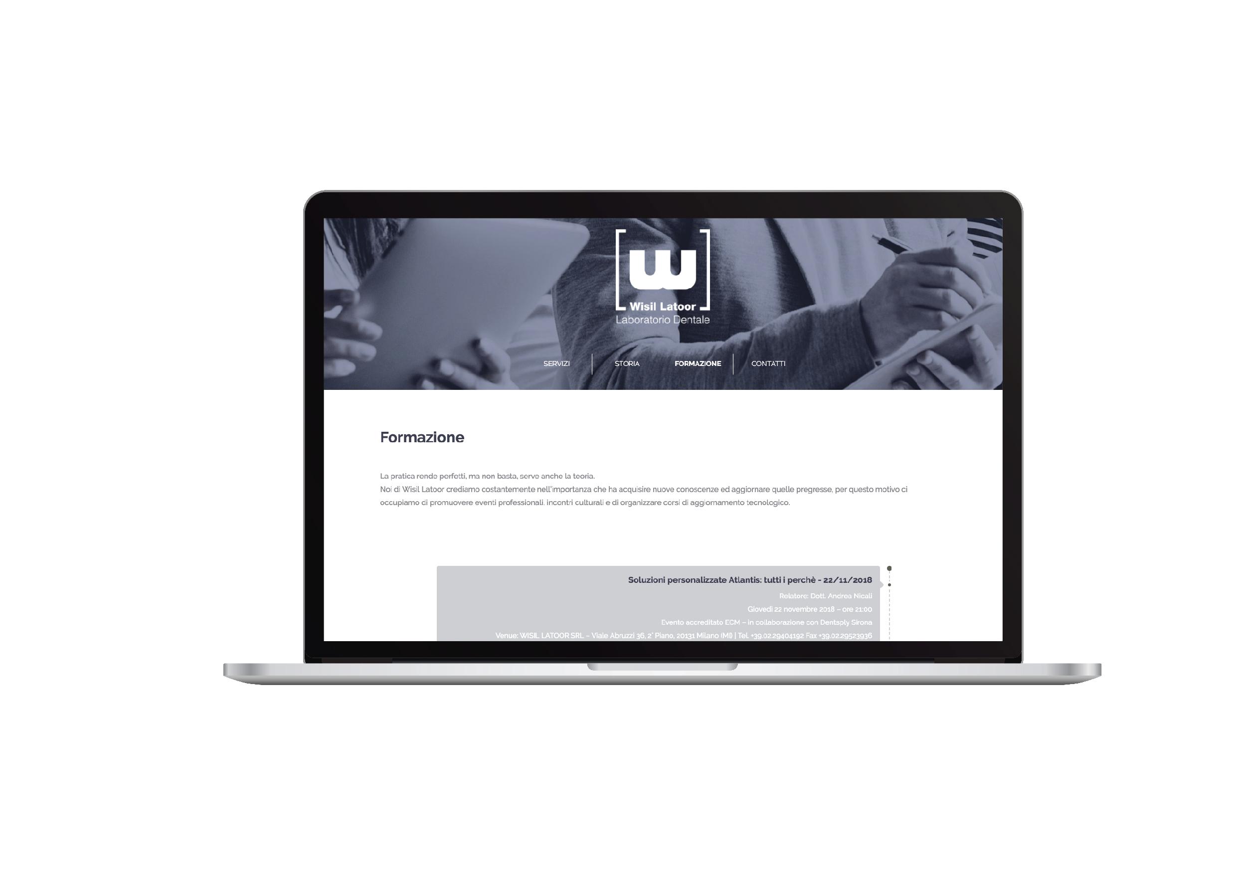 Wisil Latoor - sito web